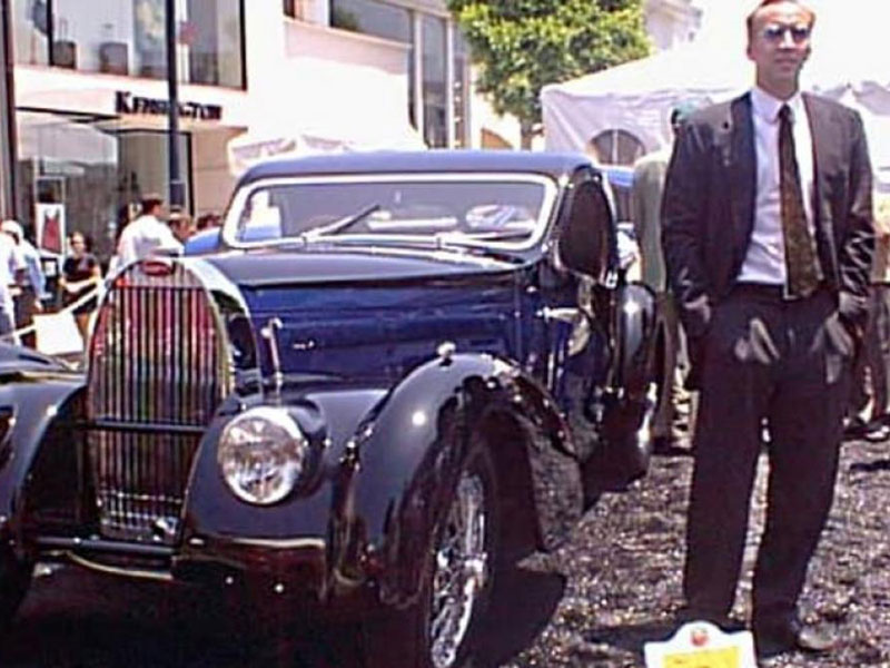 Nicolas Cage - Bugatti Atalante