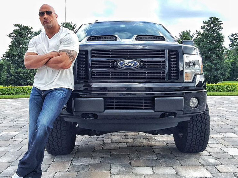 The Rock - Ford F-150