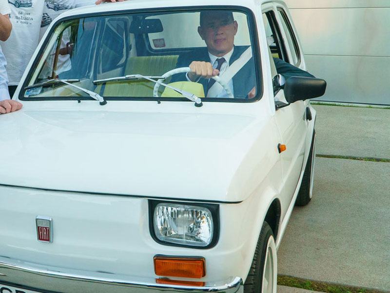 Tom Hanks - Fiat 126p