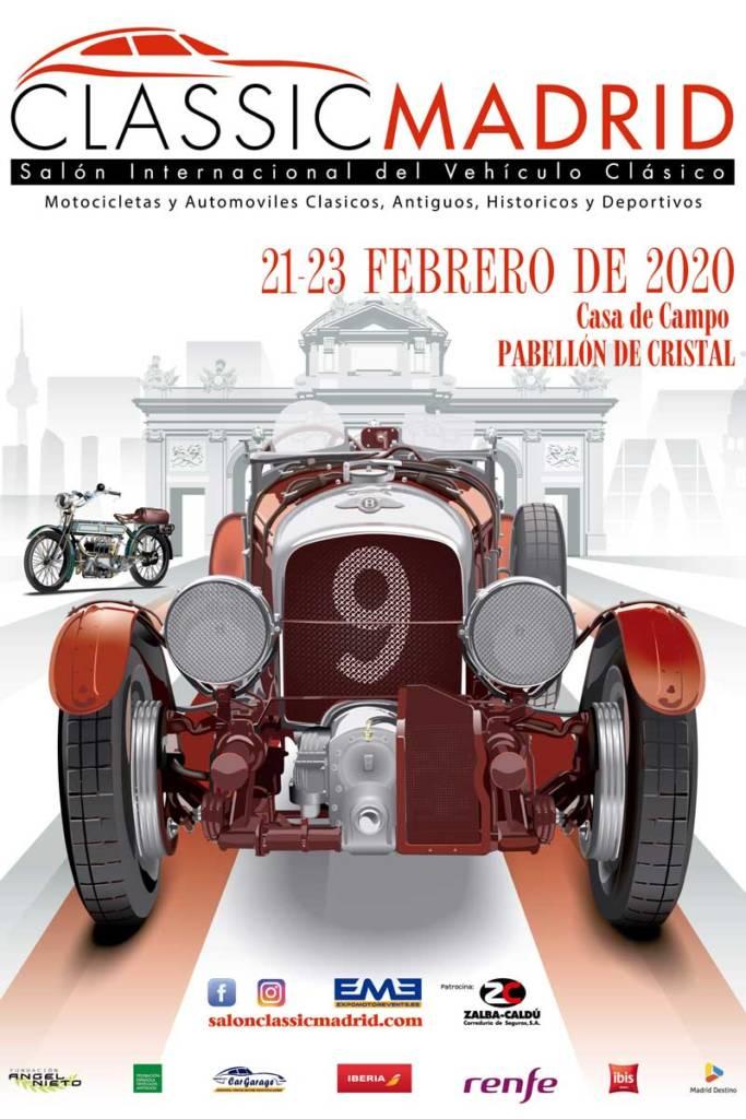 cartel classic madrid 2020