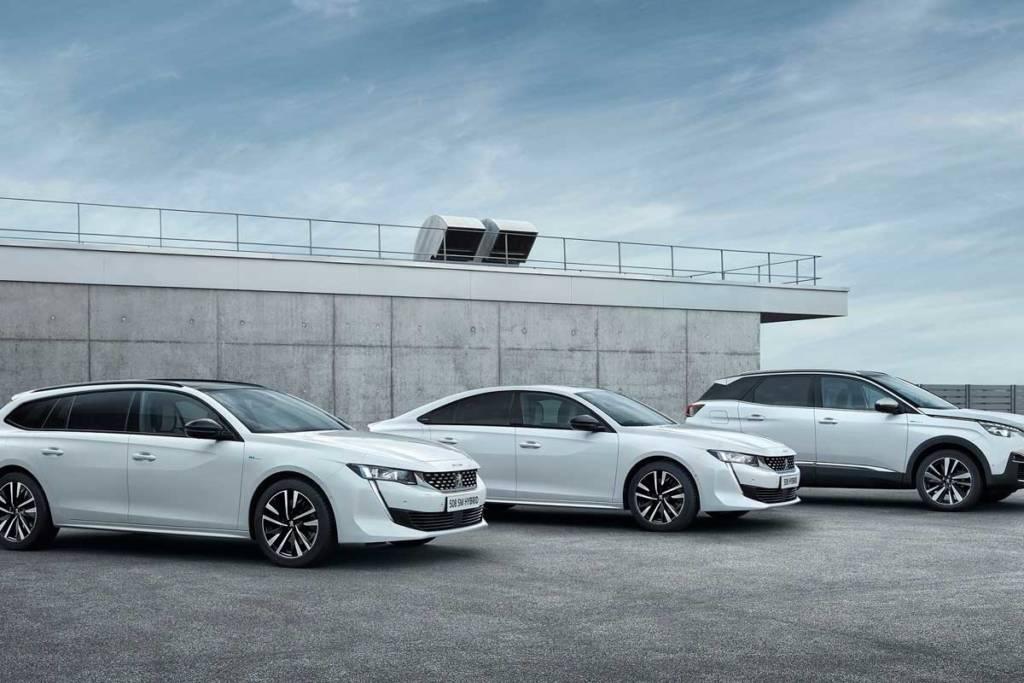 Peugeot híbridos enchufables