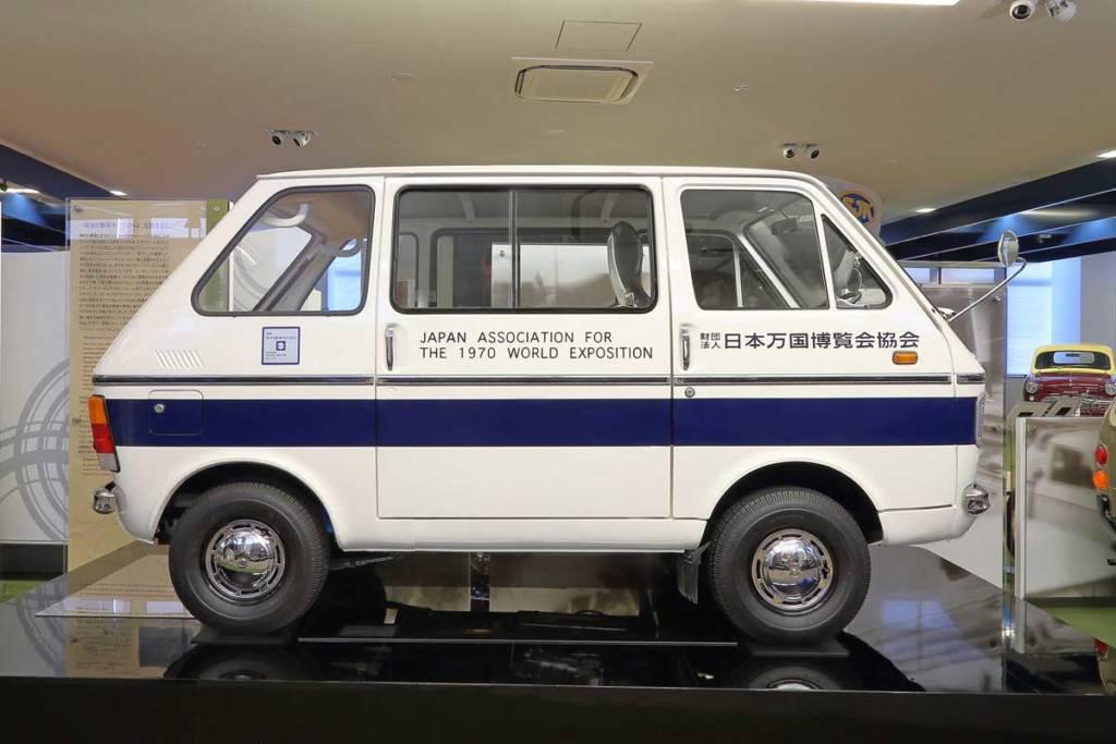 suzuki carry van electric 1979
