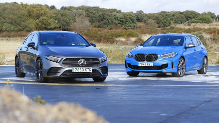 Comparativa Mercedes-AMG A 35 vs BMW M135i