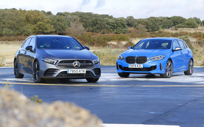 Comparativa Mercedes-AMG A 35 vs BMW M135i
