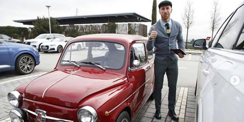 SEAT 600 Sergio ramos