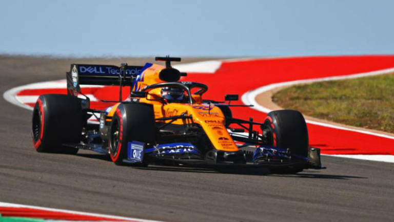 Sainz McLaren F1