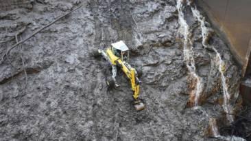 excavadora araña