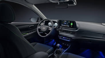 Hyundai i20 2020 interior