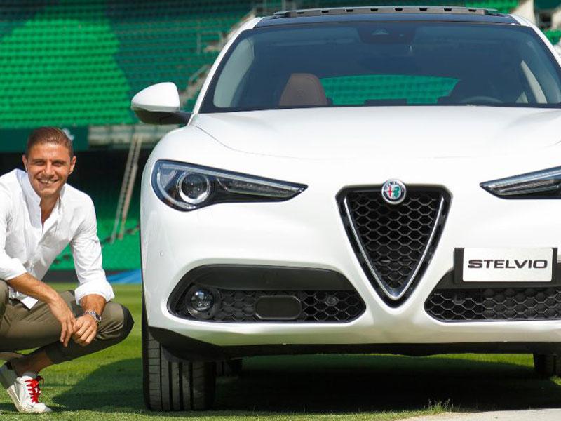 Joaquín Alfa Romeo Stelvio
