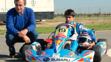 Carlos Sainz padre e hijo