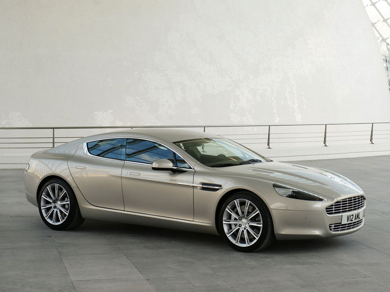 Aston Martin Rapide David Villa