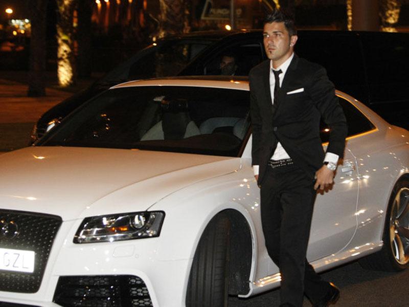Audi A5 David Villa
