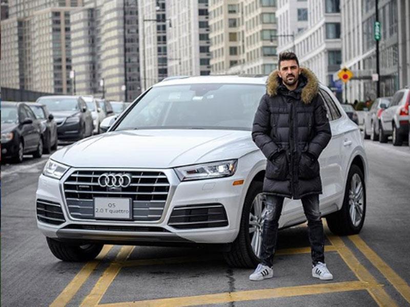 Audi Q5 David Villa