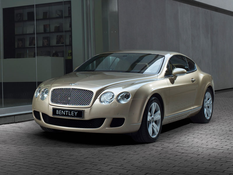 Bentley Continental GT David Villa
