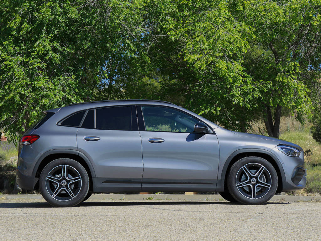 Prueba Mercedes-Benz GLA 200d 2020