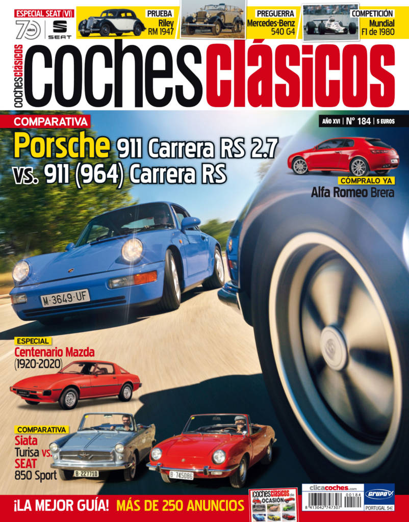 Revista Coches Clásicos 184