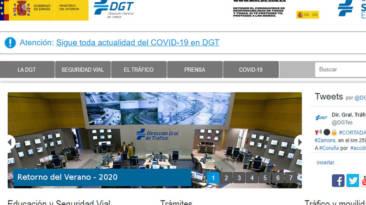 Canales información DGT