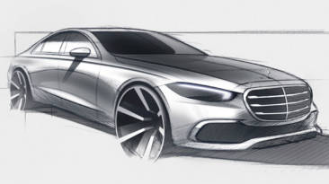 Mercedes-Benz Clase S 2021 teaser