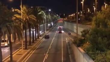 Radar camuflado Barcelona