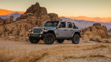 Jeep Wrangler 4xe híbrido enchufable