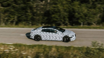 Mercedes-Benz EQS pruebas
