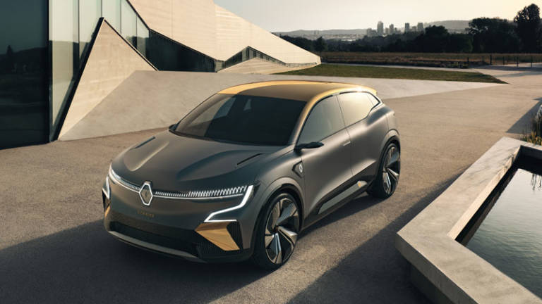 Renault Megane eVision Concept 2021