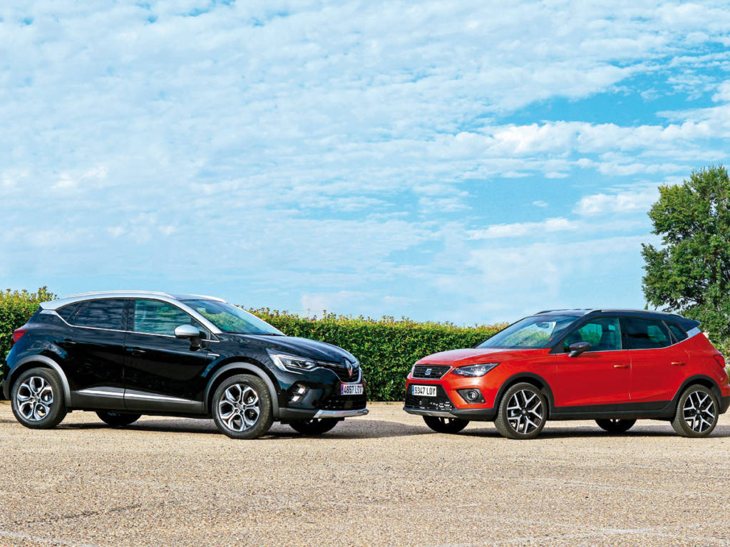 Comparativa Renault Captur Zen+ TCE 155 CV EDC vs SEAT Arona FR Go 1.5 EcoTSI 150 CV 2020