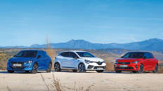 Comparativa urbana Peugeot 208 vs Renault Clio vs Opel Corsa 2020