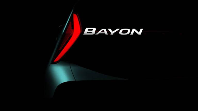 Hyundai Bayon primer imagen oficial