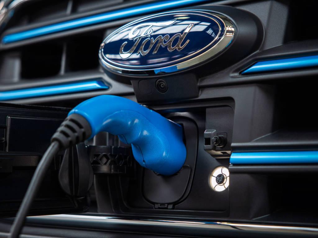 Ford E-Transit eléctrica