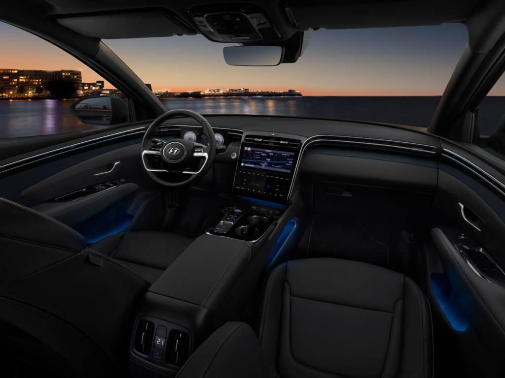 Hyundai Tucson interior 2021