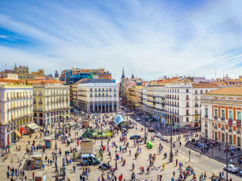 Madrid peatonal