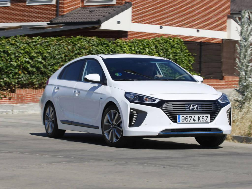 Prueba Hyundai Ioniq Hybrid 2020