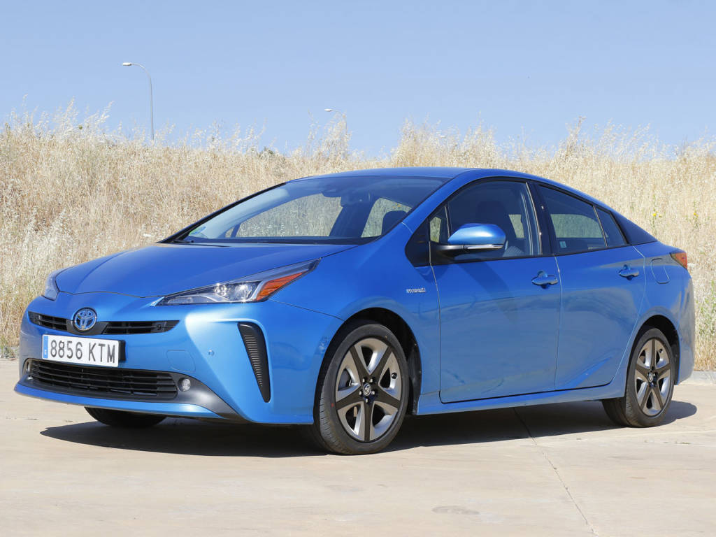 Prueba Toyota Prius 2020