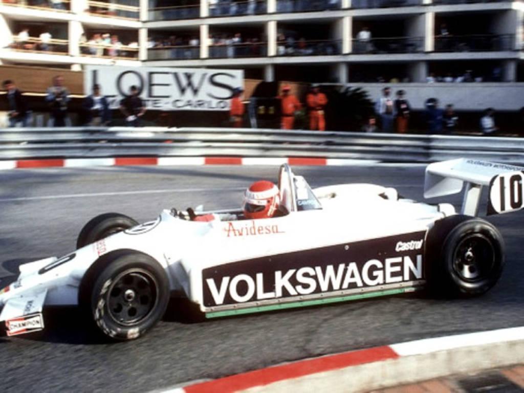De la mano de Volkswagen participó en la F-3000