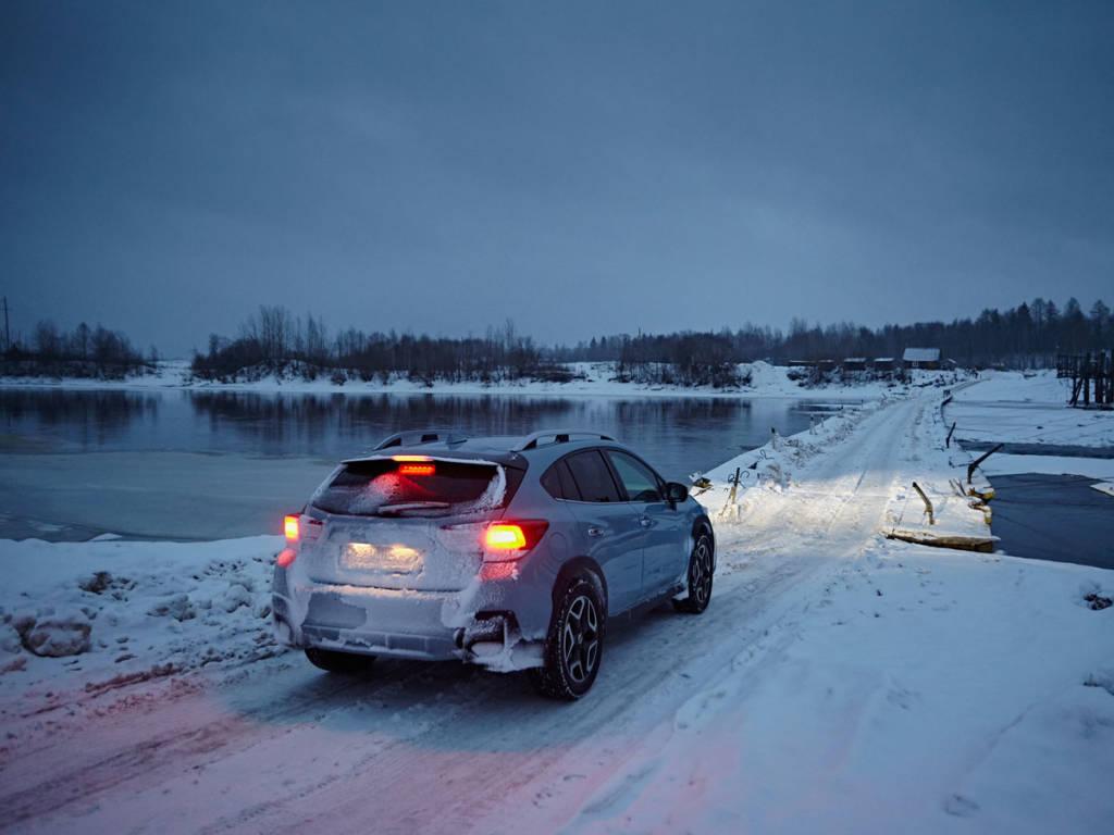 Arrancar coche tras frío o nieve