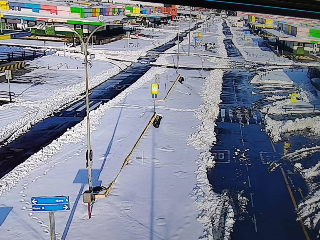 Calles Madrid nieve
