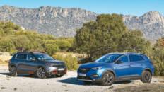 Comparativa Opel Grandland X Vs Citroën C5 Aircross