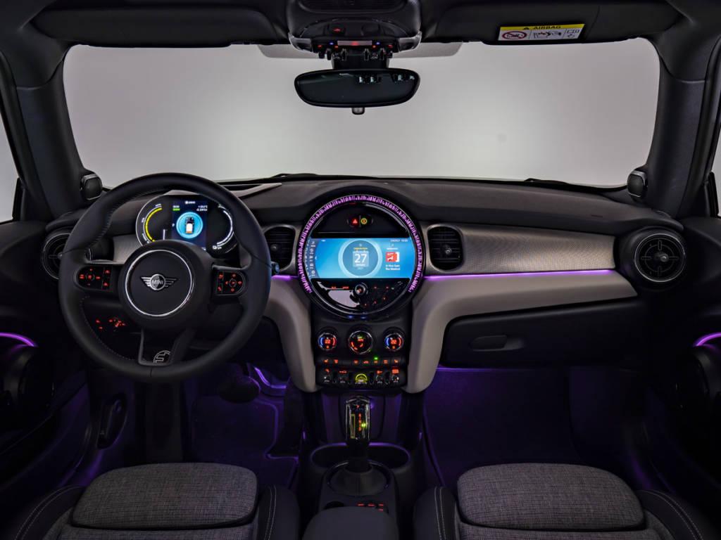 Nuevas opciones de iluminación aparecen con la renovación del MINI One