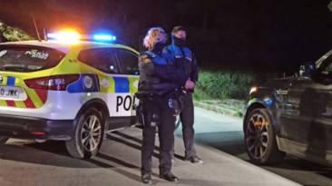 Policía Sitges niño conduciendo
