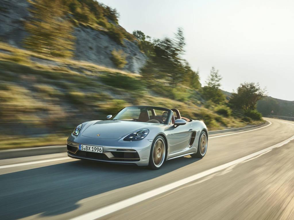 Porsche Boxster 25º Aniversario 2021