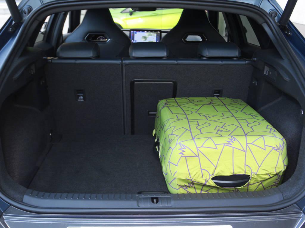 El maletero es uno de sus puntos a mejorar, solo 420 litros.