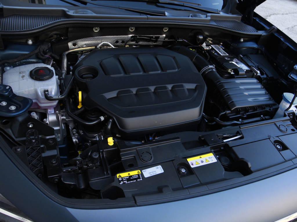 Monta el archiconocido bloque 2.0 TSI de Volkswagen