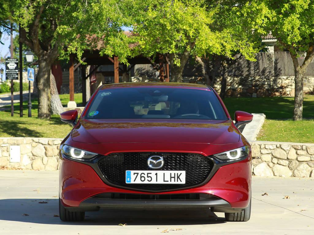 Prueba Mazda3 Zenith Skyactiv-x 180 CV AT 2021