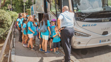 El 90% de los accidentes con niños se producen al subir o bajar del autobús