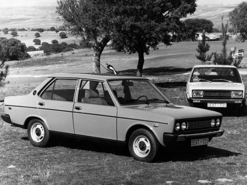 Mejor Coche del Año en España 1976 SEAT 131
