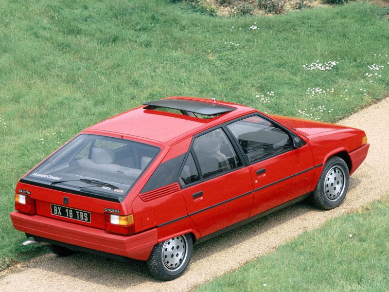 Mejor Coche del Año en España 1984 Citroën BX