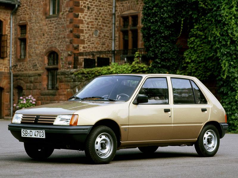 Mejor Coche del Año en España 1985 Peugeot 205