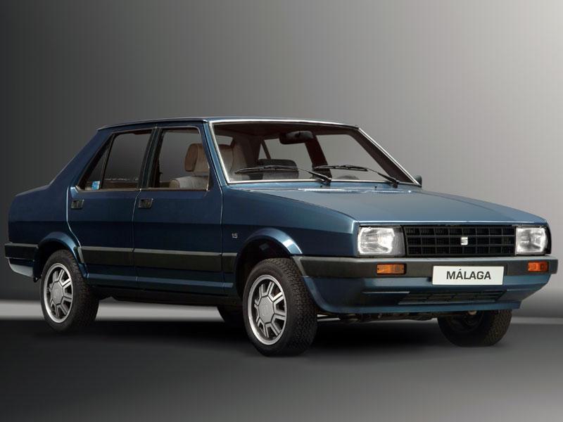 Mejor Coche del Año en España 1986 SEAT Málaga