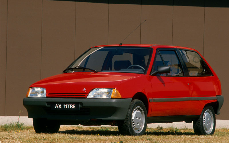 Mejor Coche del Año en España 1988 Citroën AX
